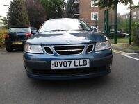 SAAB 1.9 TiD VECTOR SPORTS DIESEL=2007***IMMACULATE & DRIVES SPOT ON***FSH-LONGMOT**HPI CLEAR £1650