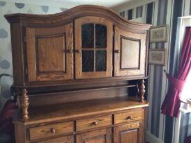 **REDUCED** Solid Dutch Oak Dresser/Sideboard