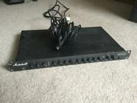 Marshall rack pre amp
