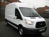 ford transit 2014 64 one owner 350 125ps full sevice history luw high roof