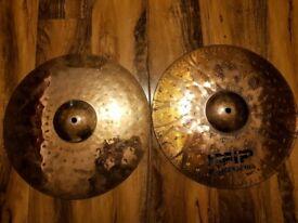 """UFIP Tiger Hihat 14"""" Cymbals"""