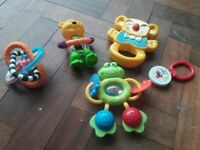 Baby toys and child's toy whistles /recorders