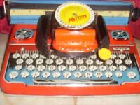 Antique Children's Toy Type Writer