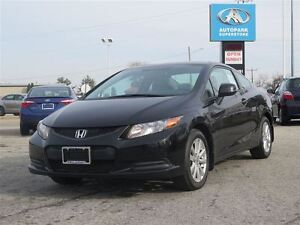 2012 Honda Civic EX/CARPROOF CLEAN/MANUAL/BLUETOOTH/SUNROOF