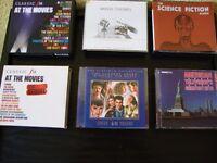 Film and TV soundtracks CD's. 2 double albums. 3 triple albums. 1 quad album.