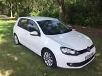 Volkswagen Golf match 1.6 tdi 61 reg 61k vw service