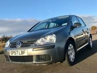 VW Golf 1.4l 2007. Full service history. Long MOT.