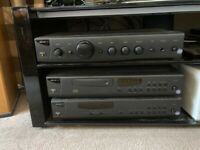 Arcam Alpha 8r amp, Arcam Alpha 8r CD, Arcam Alpha 7 tuner, Ruark Templar Speakers