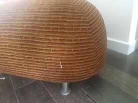 Unusual seat, pouffe, stool