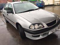 Toyota Avensis 1.8 Authentic, sunroof long mot, full service history £550
