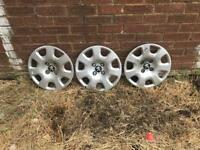 Genuine Peugeot Wheel Trims