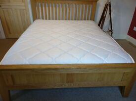 Solid Oak King Sized Bed