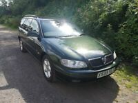 Vauxhall Omega Estate 2.5 5 Speed Manual