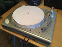 iON USB Turntable 33RPM and 45RPM Speed Aux Out Headphone Out GT Stylus Excellent Condition