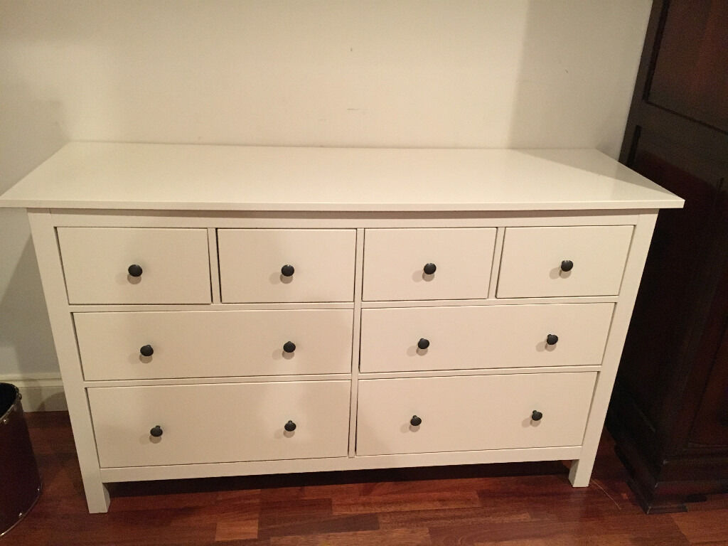 Ikea Hemnes Chest of 8 drawers and dombas wardrobe. Ikea Hemnes Chest of 8 drawers and dombas wardrobe   in