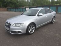 STUNNING 2009 AUDI A6 TDI S LINE FACELIFT MODEL FULL SERVICE HISTORY PX WELCOME £4600
