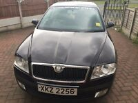 2009 BLACK SKODA OCTAVIA WITH 11 MONTHS TAXI LICENCE PLATE, GREAT CONDITION