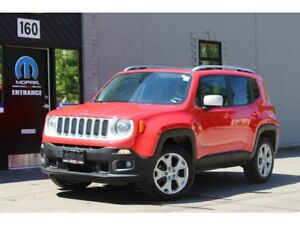 2017 Jeep Renegade Limited*NAV*LEATHER*ROOF*CAM*MINT