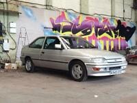 Escort Xr3i swap