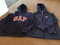 Nike and Gap Hoodies