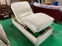 Single electric recliner bed with special own mattress