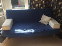 Ikea BEDDINGE LOVAS 3 seat sofa bed