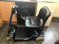 LIGHTWAY LARGE CAR BOOT MOBILITY SCOOTER , CARRIES 21 STONE IN MINT A1 CONDITION