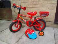 Apollo Fire Chief Red Kids Bike