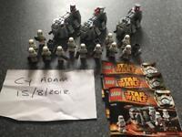Lego starwars troop carriers x 3