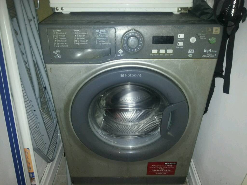Washer 8kg silver