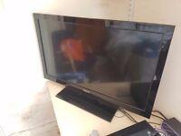 "Toshiba 32"" Flatscreen LCD TV Black with stand"