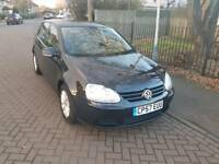 GOLF FSI 1.6L Diesel 5DR 2007 long mot full service history with dealer
