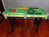 Kids 'Pot It' Snooker Table
