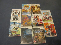 10 Nintendo wii games very good condition