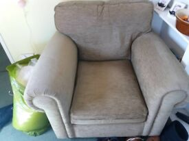 Grey Armchair - perfect condition