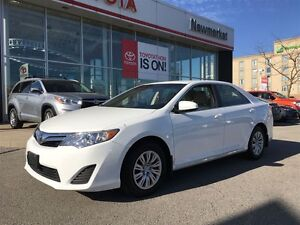 2014 Toyota Camry LE ONE OWNER, BACKUP CAMERA, CERTIFIED