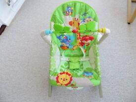 Fisher Price Rainforest Baby Newborn to Toddler Rocker Chair