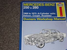 workshop manuals various-older cars and newer too