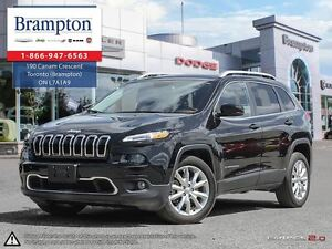 2016 Jeep Cherokee LIMITED | EX-DEMO | BACKUP CAM | LEATHER |