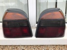 VW GOLF MK3 GTI REAR LIGHTS