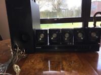 Samsung DVD & 5.1 surround sound system