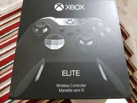 Xbox one elite controller. Like new, boxed
