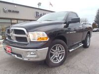 2012 Ram 1500 SLT Short BOX 4X4-CAP-Buckets-Power Seat