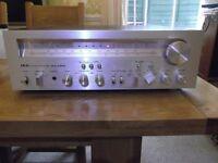 Classic AKAI AA-1200 hi-fi stereo AM/FM receiver - 120 watts RMS per channel