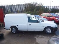 Ford ESCORT 55D,boarded out,tow bar fitted,security lock on rear door,good workhorse,runs very well