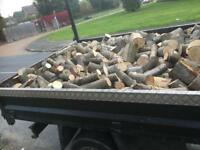 Season logs for sale £100 for truck £50 ton bags