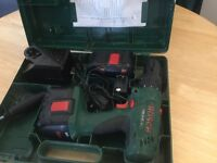 BOSCH 24v CORDLESS DRILL WITH HAMMER ACTION