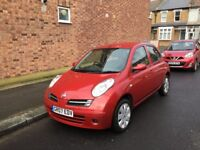 Nissan Micra 1.2 petrol VERY LOW MILEAGES
