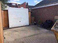 Garage gate.