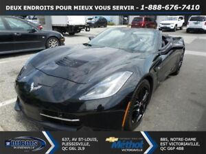 2016 Chevrolet Corvette STINGRAY CONVERTIBLE + AUTOMATIQUE + 3LT